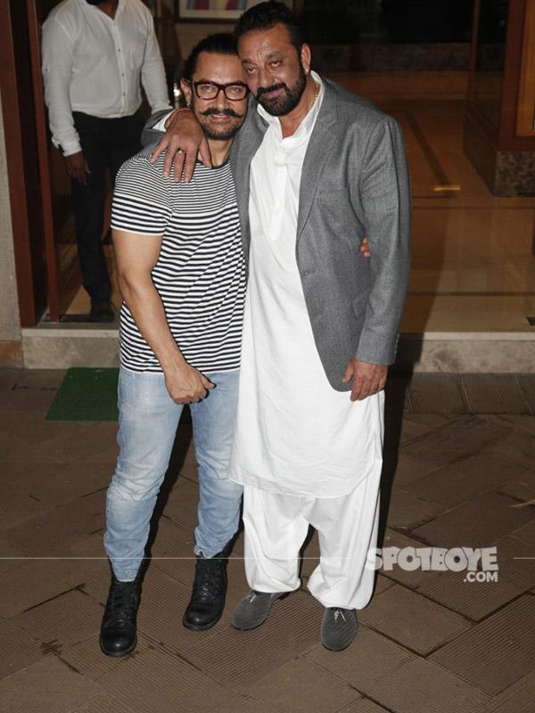 aamir khan and sanjay dutt