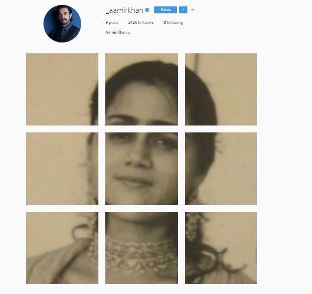 aamir khans first post on instgram