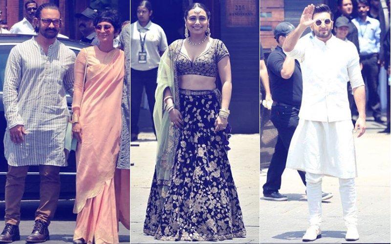 सोनम की शादी: इस ख़ास मौके का हिस्सा बनने पहुंचे आमिर खान, किरण राव और रणवीर सिंह