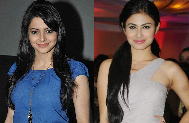 aamna sharif and mouni roy