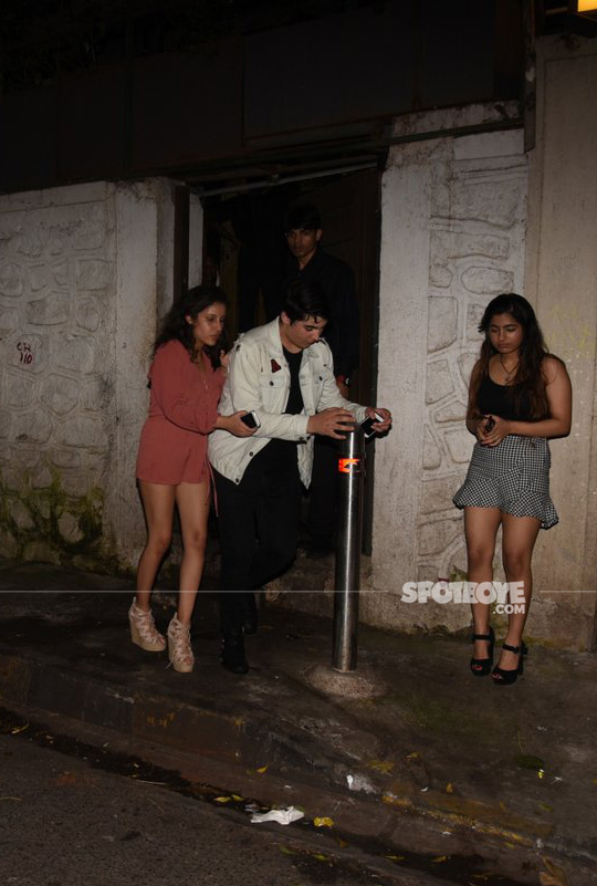 aarav bhatia snapped post partying