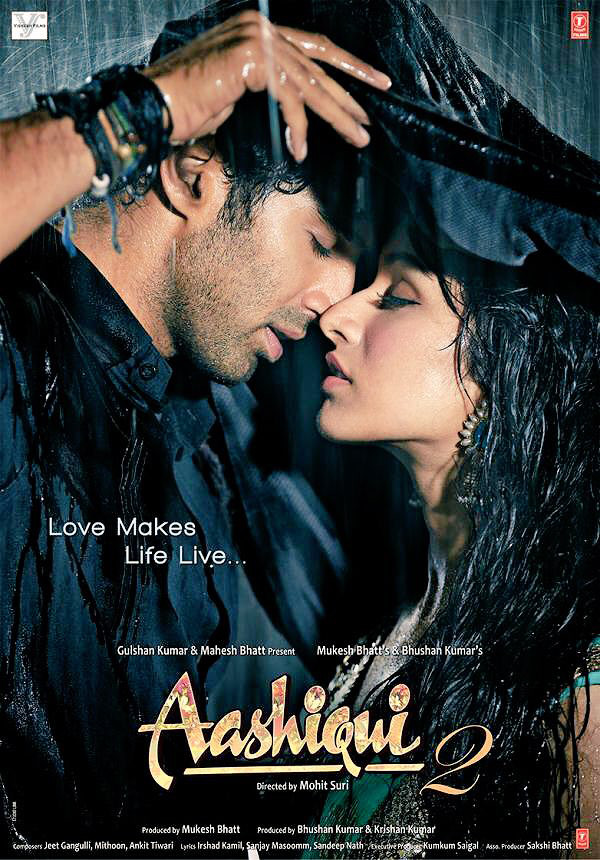 aashiqui 2 featuring aditya roy kapur and shraddha kapoor