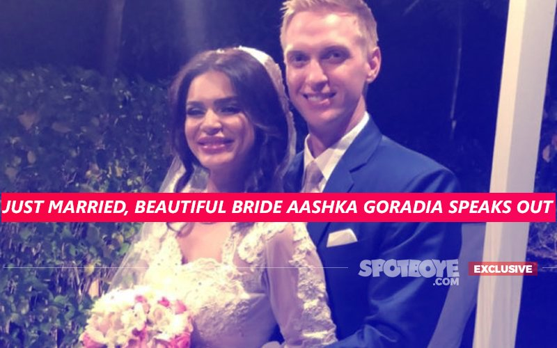 Just Married, BRIDE Aashka Goradia DETAILS Her ROMANCE, SHAADI & HONEYMOON With Brent