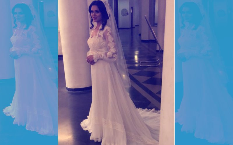 Aashka Goradia Looks Like A Dream In Her Wedding Gown