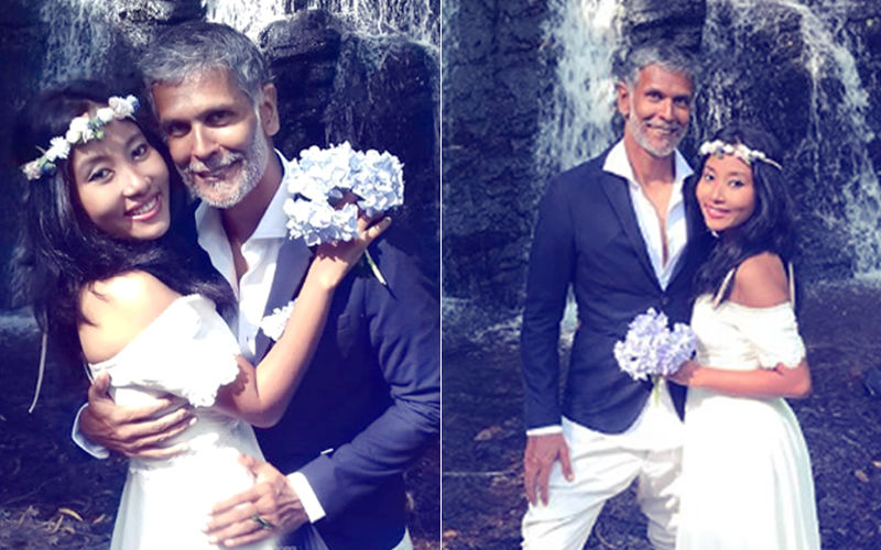 Milind Soman & Ankita Konwar Get Married Again...This Time With A Twist!