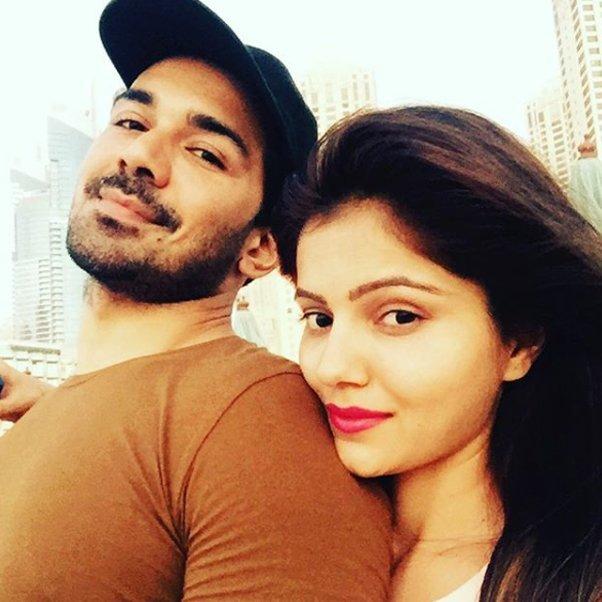 abhinav shukla and rubina dilaik share cute picture