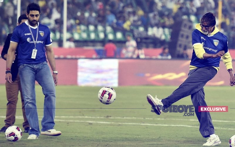 Jhund! That's The Title Of Amitabh Bachchan's Football Film