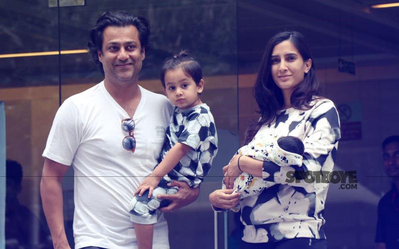 Gattu & Wife, Pragya Take Their Newborn Son Home