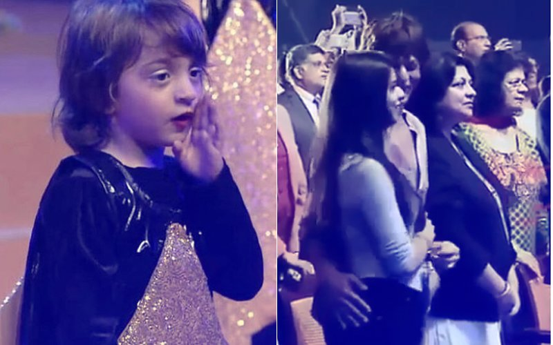 AbRam Shines On Stage, Shah Rukh Khan & Suhana Can't Stop Dancing Along