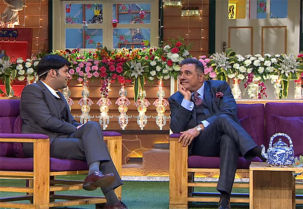 boman irani in kapil sharma show celebrating 100 episodes 100 not out