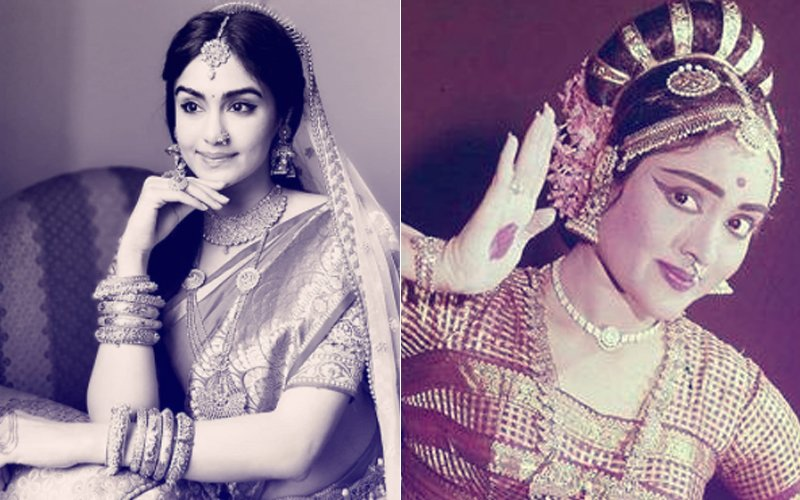 Pics: Hottie Adah Sharma's Amazing Transformation Into Veteran Actress Vyjayanthimala