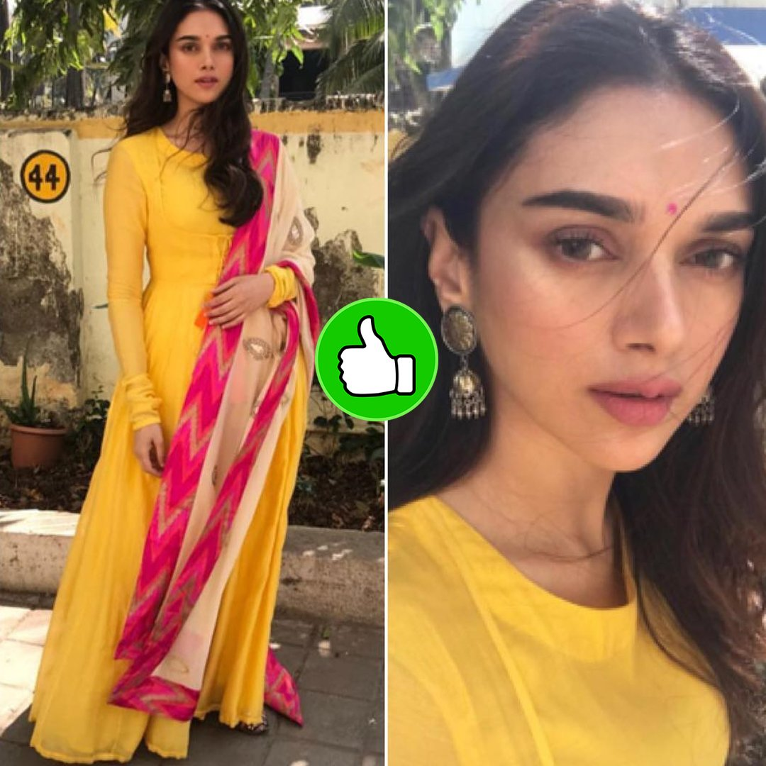 aditi rao hydari rocks her indian outfit