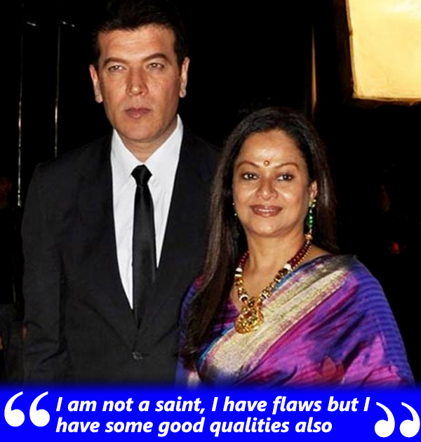 aditya pancholi with wife zarina wahab