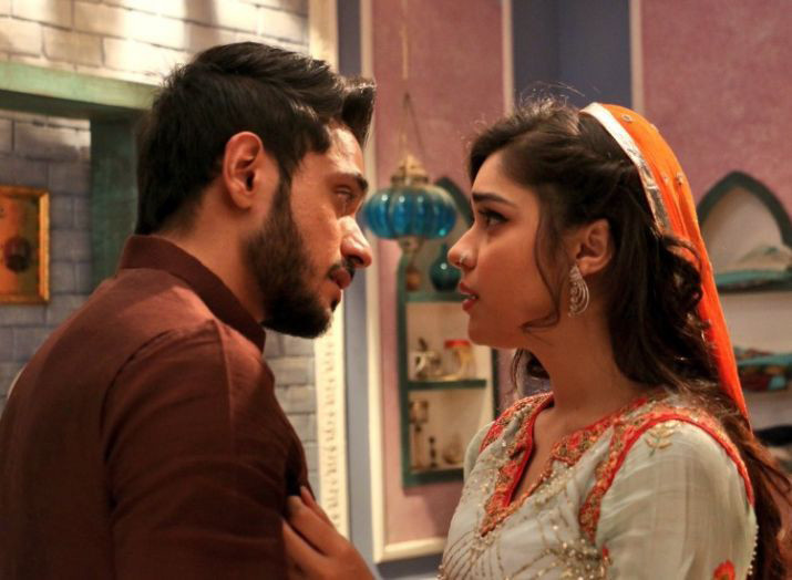 adnan khan and eisha singh in ishq subhan allah