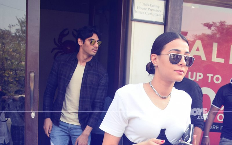 Ahan Shetty Takes Girlfriend Tania Shroff Out For Lunch