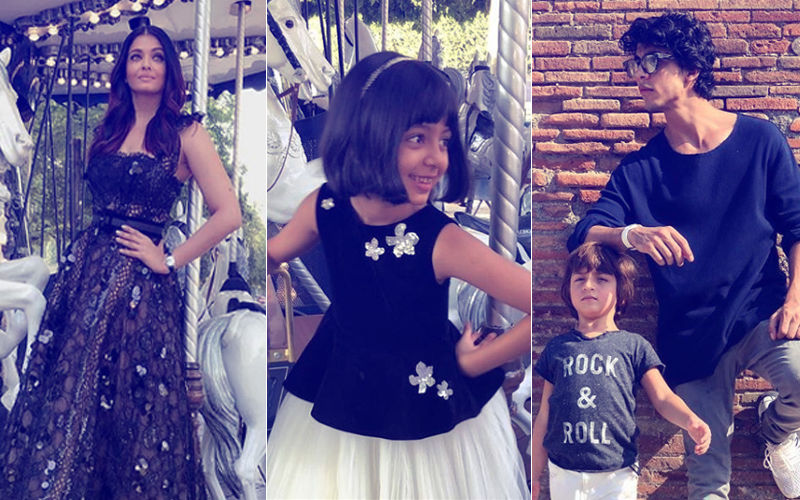 Aishwarya Rai, Aaradhya, Aryan Khan & AbRam's Latest Pictures Will Kick-Start Your Weekend With A Bang!