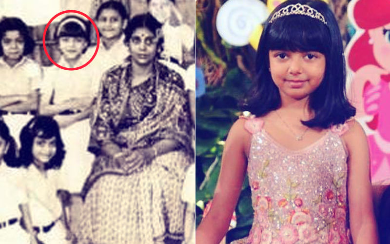 6-Year-Old Aishwarya Rai Had The Same Hairdo As Aaradhya