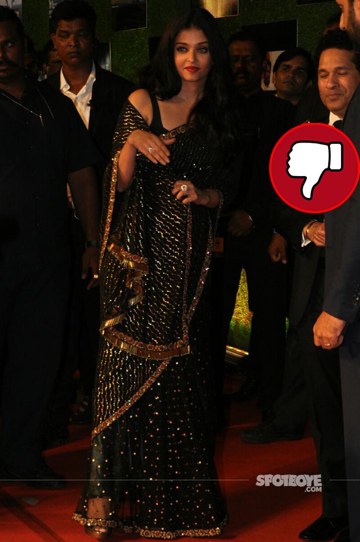 aishwarya rai bachchan at sachin a billion dreams premiere