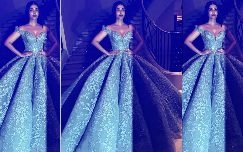 Cannes Film Festival 2017: Aishwarya Rai Bachchan Is The Belle Of The Ball In A Blue Gown