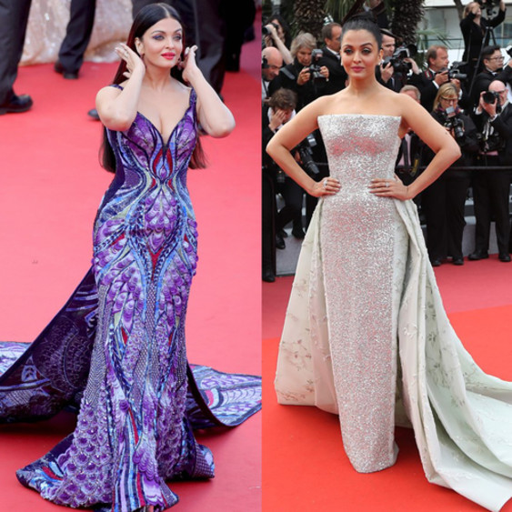 aishwarya rai butterfly gown at cannes 2018