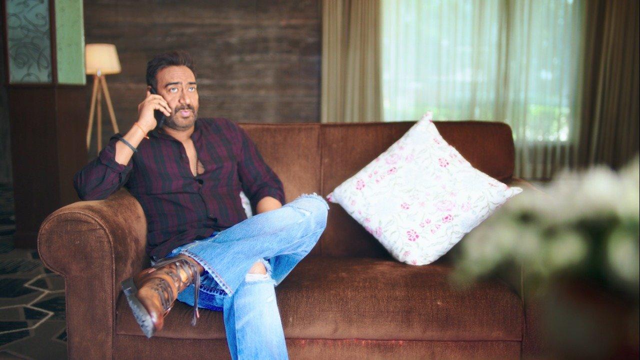 ajay devgan shoots the promo of the film