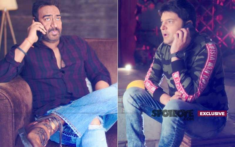 Exclusive Pics: Ajay Devgn Forgives Kapil Sharma For His High-Handedness