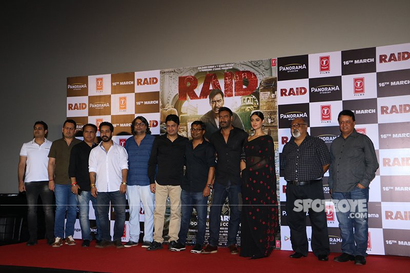 ajay devgn launched the trailer of the film