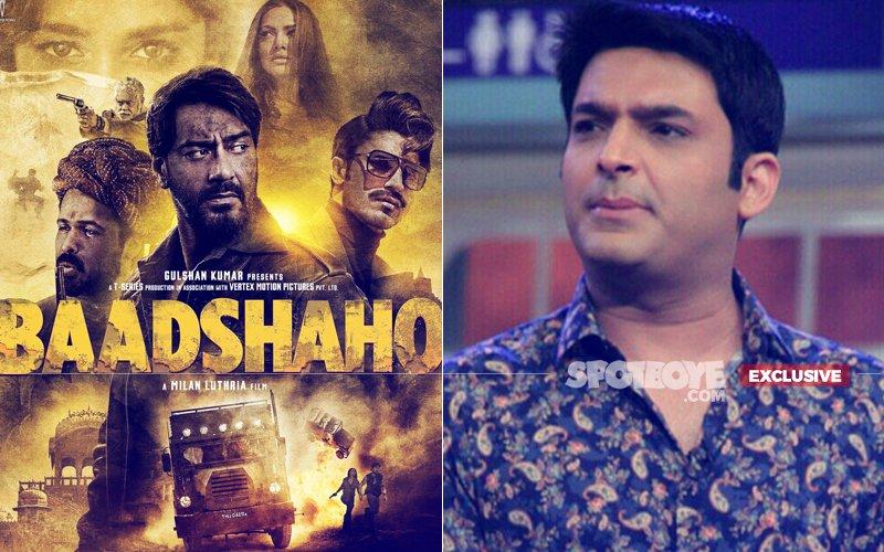 SHOCKER! Kapil Sharma CANCELS Baadshaho Shoot, Ajay Devgn Walks Out In DISGUST