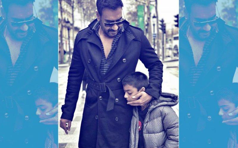 7 साल के बेटे के सामने सिगरेट पीते नज़र आए 'सिंघम' अजय देवगन, फैन्स ने लिया आड़े हाथ