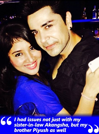 akangsha and piyush during happier times
