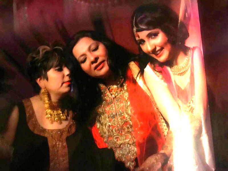 akanksha sharma with mil shabnam singh