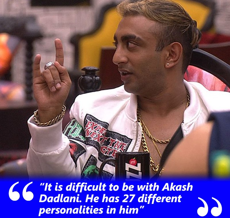 akash dadlani has 27 different personalities