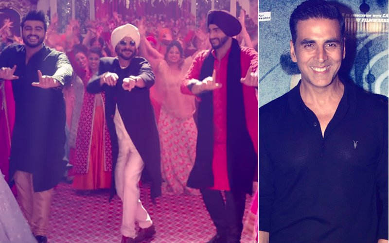 Akshay Kumar's Sweet Gesture, Launches Mubarakan's Second Trailer From London
