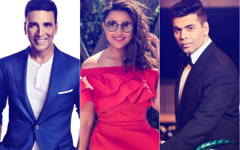 Guess What The Awesome Threesome Parineeti Chopra-Akshay Kumar-Karan Johar Are Planning Together?