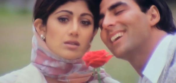 akshay kumar and shilpa shetty in dhadkan