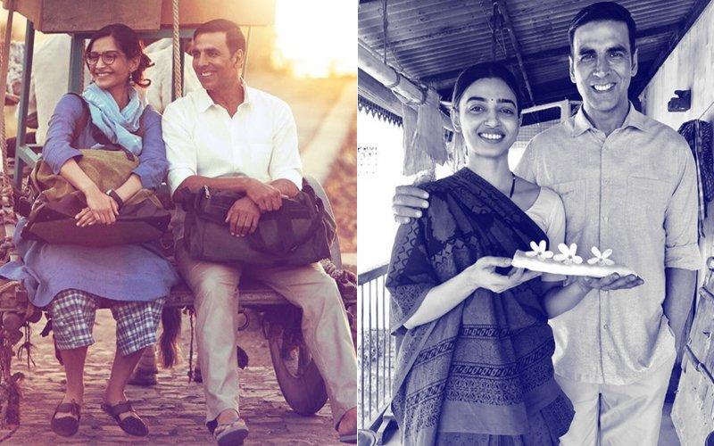 Akshay Kumar Shares The First Look Of Radhika Apte & Sonam Kapoor From Padman