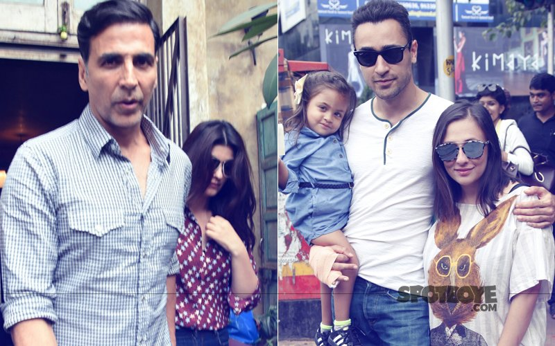 Akshay Kumar & Twinkle Khanna Lunch Together; Imran Khan Spends Time With Avantika & Imara