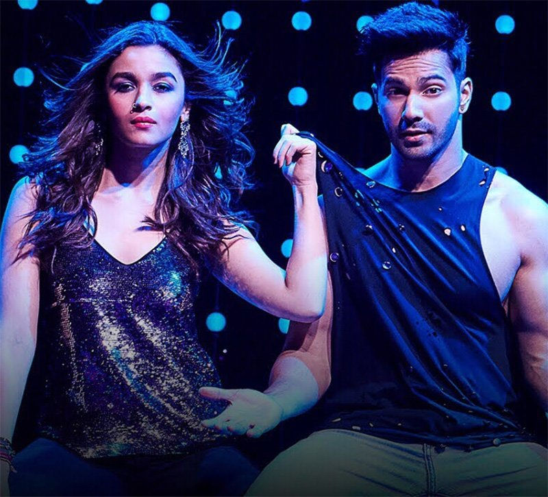 alia bhatt and varun dhawan in tamma tamma