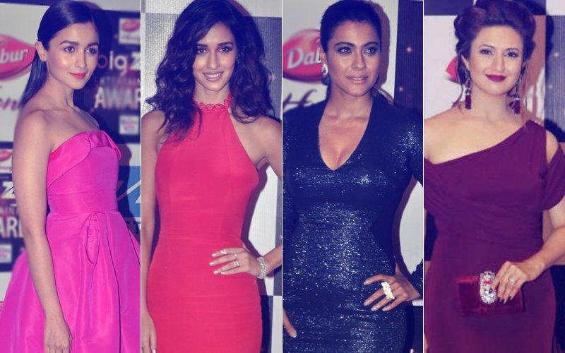 BEST DRESSED & WORST DRESSED AT BIG ZEE AWARDS 2017: Alia Bhatt, Disha Patani, Kajol Or Divyanka Tripathi?