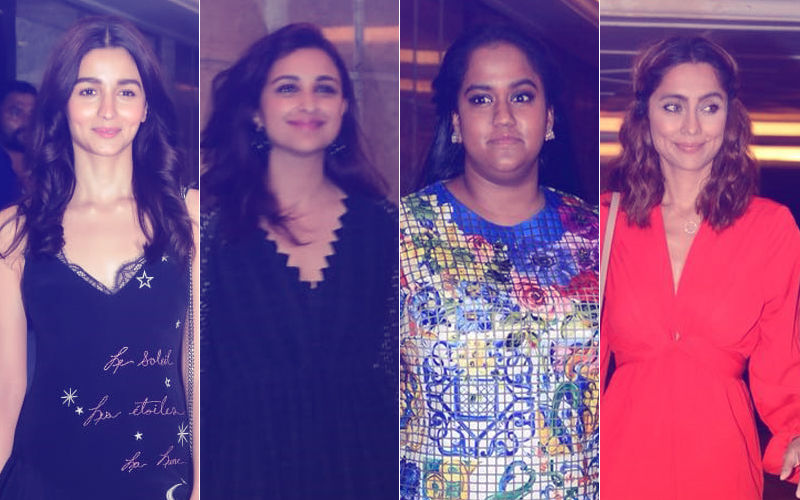 Priyanka Chopra-Nick Jonas Engagement Party: Alia Bhatt, Parineeti Chopra, Arpita Khan, Anusha Dandekar Are The Early Birds