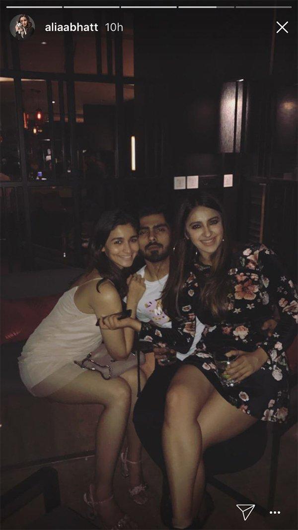 alia bhatt parties with ex boyfriend ali dadarkar