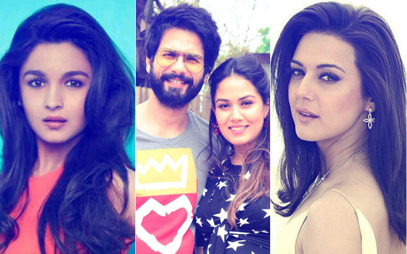 Shahid Kapoor-Mira Rajput Blessed With A Baby Boy: Alia Bhatt, Preity Zinta Congratulate The Couple