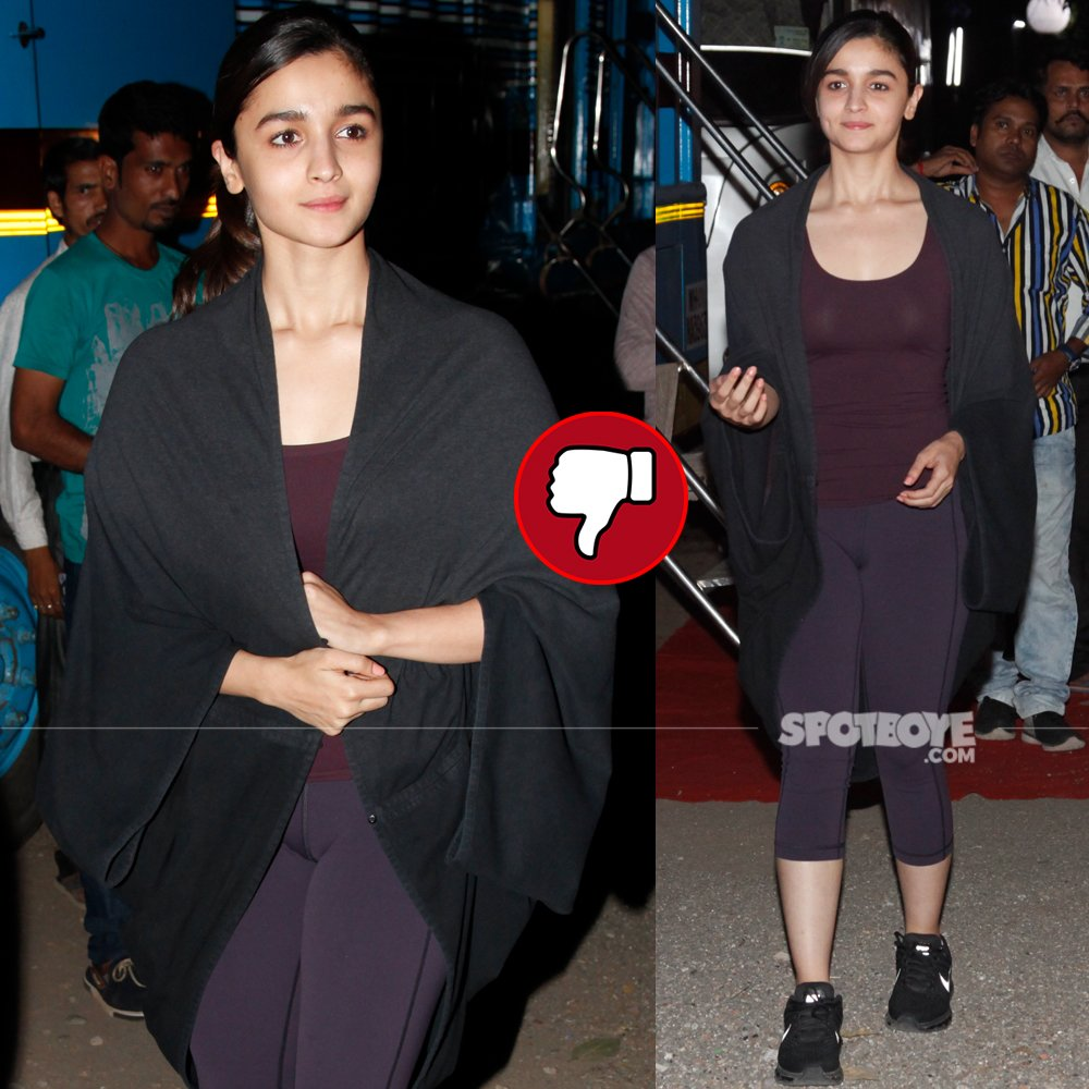 alia bhatt snapped post a shoot