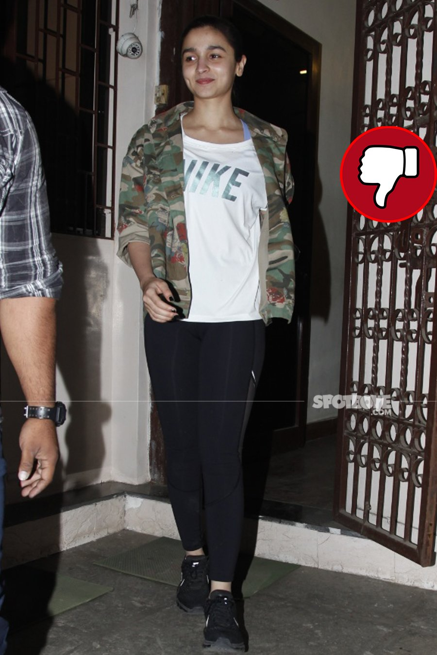 alia bhatt snapped post dubbing session