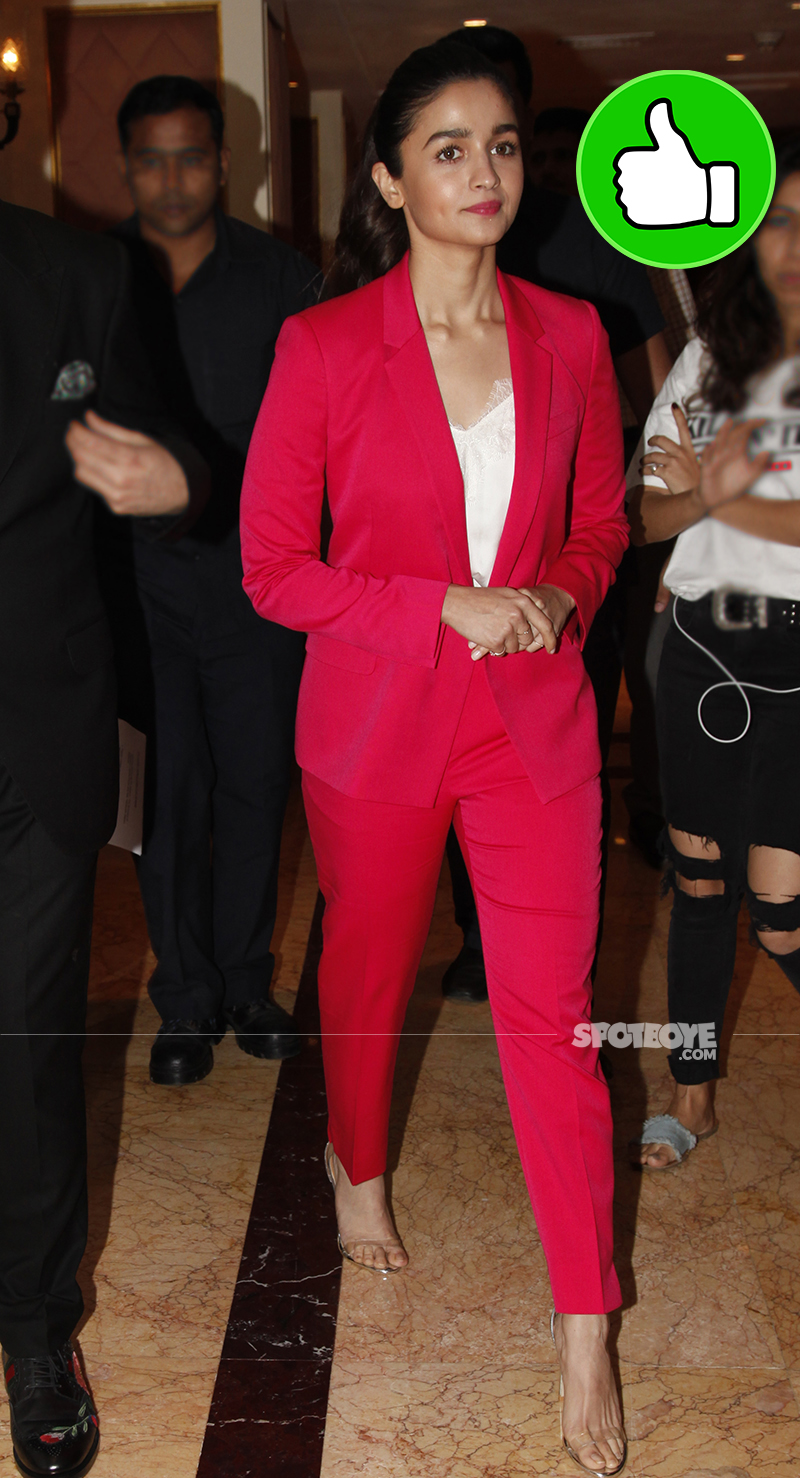 alia bhatt spotted with karan johar at an event