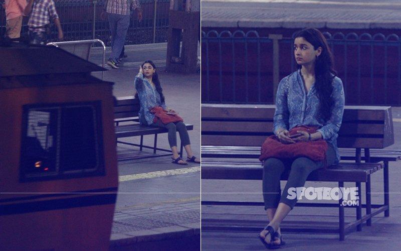 Pics: Alia Bhatt Shoots For Gully Boy At Goregaon Station