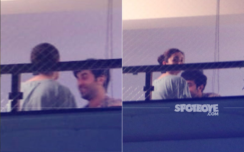 Lovebirds Caught By The Window: Ranbir Kapoor & Alia Bhatt's Late Night Rendezvous At Actress' House
