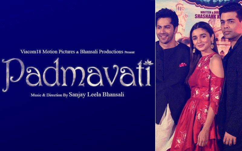Padmavati Trailer: Varun Dhawan, Alia Bhatt & Karan Johar Go Bonkers Over The Magnum Opus