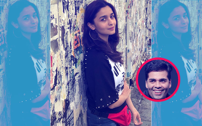 Alia Bhatt Poses For Mentor Karan Johar In Bulgaria