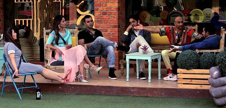 all the contestants from bigg boss 11